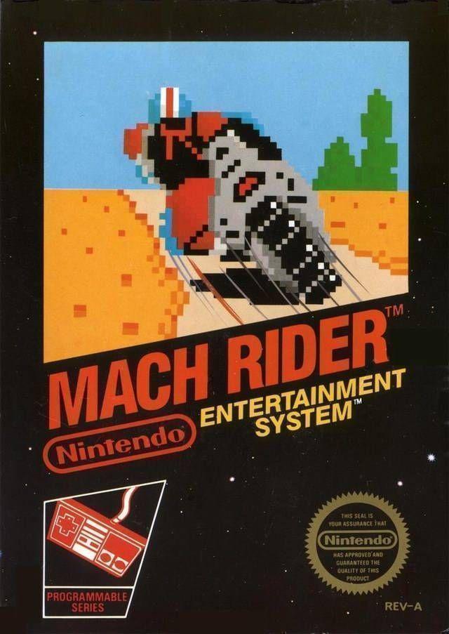 Rom juego Mach Rider