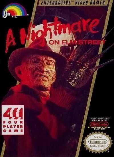 Rom juego Nightmare On Elm Street, A