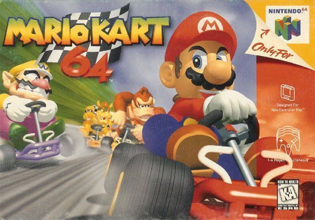 Rom juego Mario Kart 64