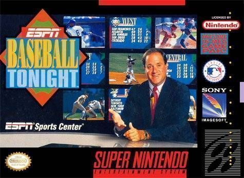 Rom juego ESPN Baseball Tonight
