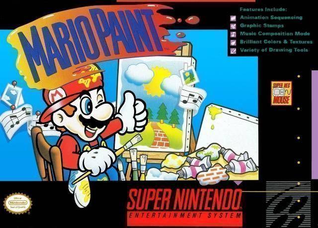 Rom juego Mario Paint
