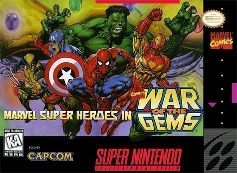 Rom juego Marvel Super Heroes - War Of The Gems