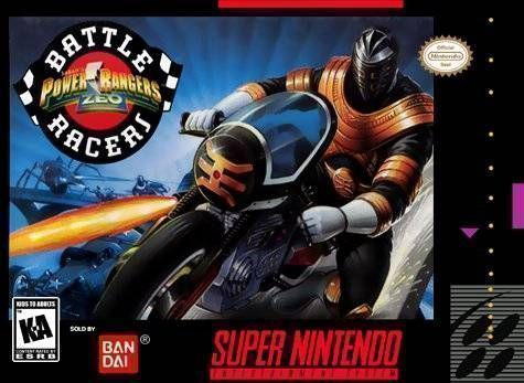 Rom juego Power Rangers Zeo - Battle Racers