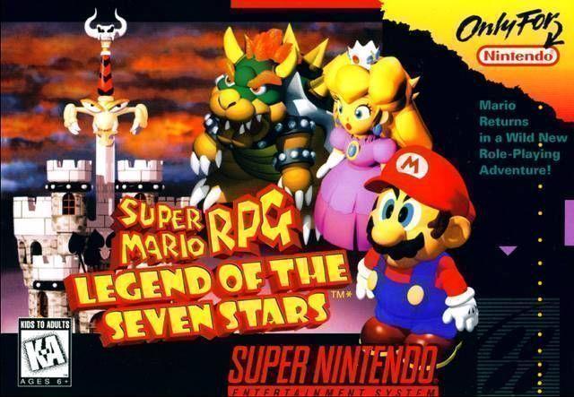 Rom juego Super Mario RPG - Legend Of The Seven Stars