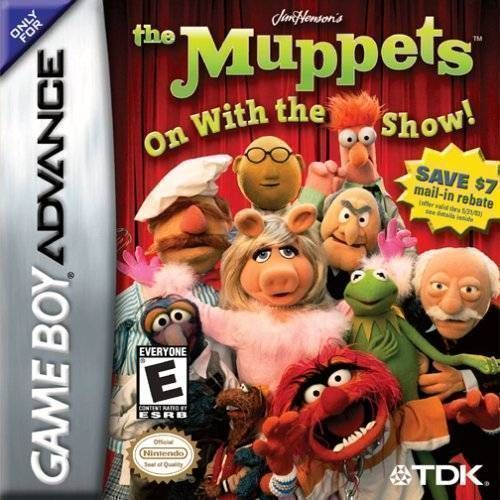 Rom juego Muppets - On With The Show! [h1I]