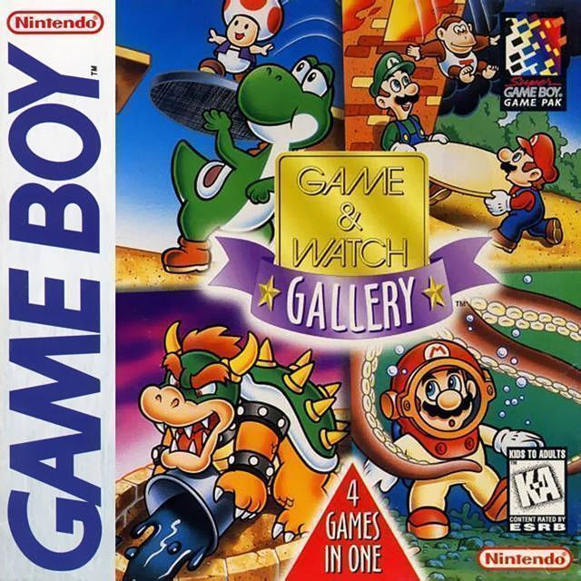 Rom juego Game & Watch Gallery 2