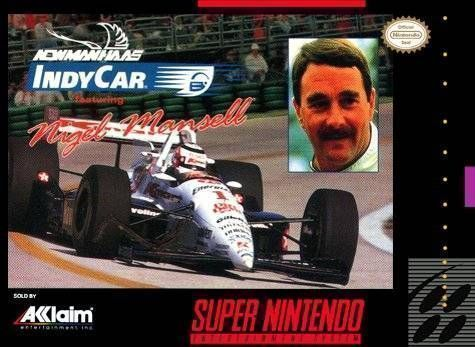 Rom juego Newman-Hass Indy Car Featuring Nigel Mansell