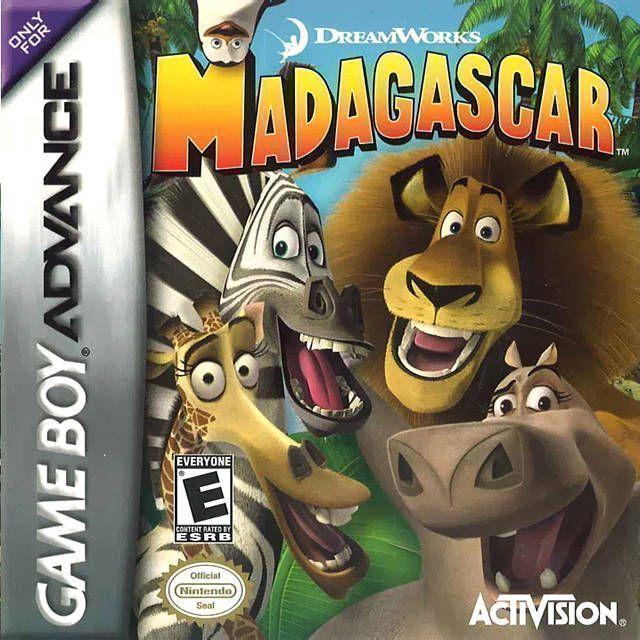 Rom juego Madagascar