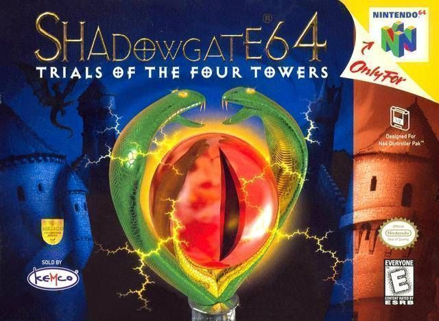 Rom juego Shadowgate 64 - Trials Of The Four Towers