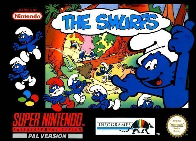 Rom juego Smurfs 2, The
