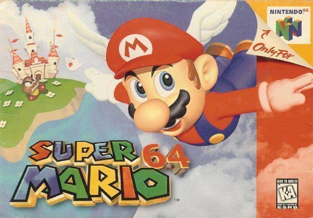 Rom juego Super Mario 64 - Shindou Edition