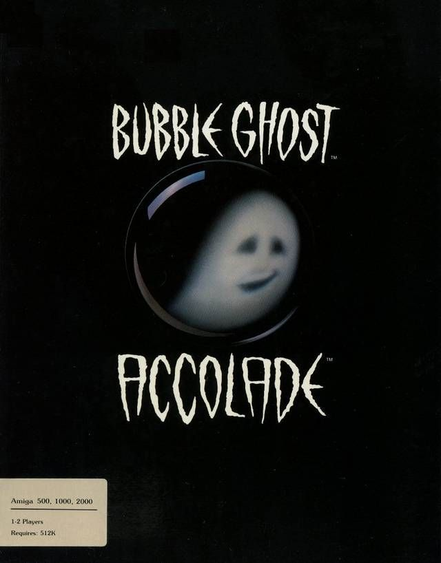 Rom juego Bubble Ghost