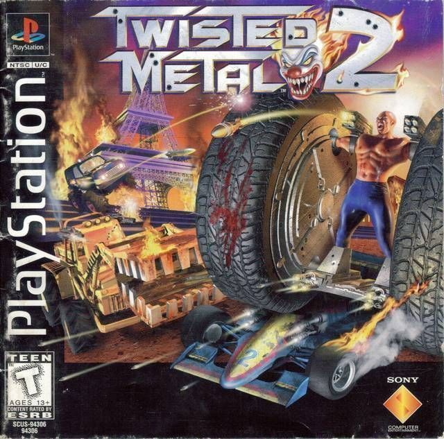 Rom juego Twisted Metal 2