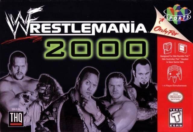 Rom juego WWF WrestleMania 2000