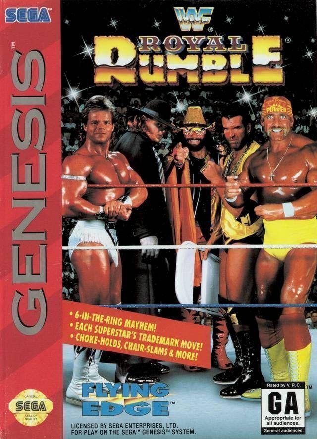Rom juego WWF Royal Rumble (JUE)