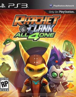 Rom juego Ratchet & Clank: All 4 One