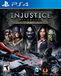 Rom juego Injustice: Gods Among Us