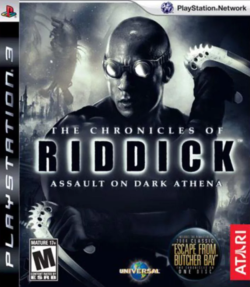 Rom juego The Chronicles Of Riddick: Assault On Dark Athena