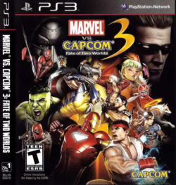 Rom juego Marvel vs. Capcom 3: Fate of Two Worlds