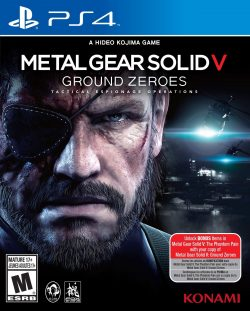 Rom juego Metal Gear Solid V: Ground Zeroes