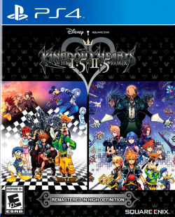 Rom juego Kingdom Hearts 1.5+2.5 HD Final Mix