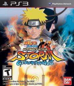 Rom juego Naruto Shippuden: Ultimate Storm Generations