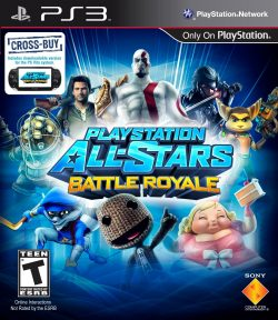 Rom juego PlayStation All-Stars Battle Royale
