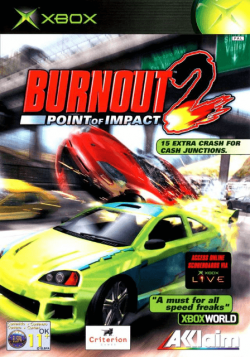 Rom juego Burnout 2: Point of Impact