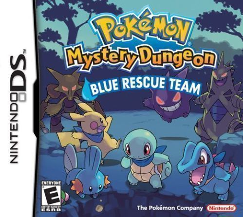 Rom juego Pokemon Mystery Dungeon - Blue Rescue Team