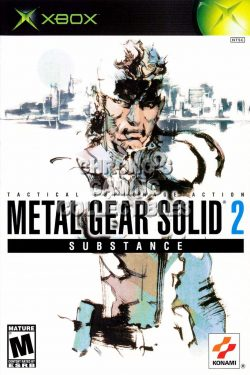 Rom juego Metal Gear Solid 2: Substance