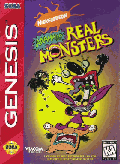 Rom juego AAAHH!!! Real Monsters (4)