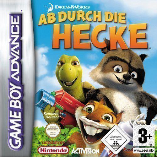Rom juego Ab Durch Die Hecke