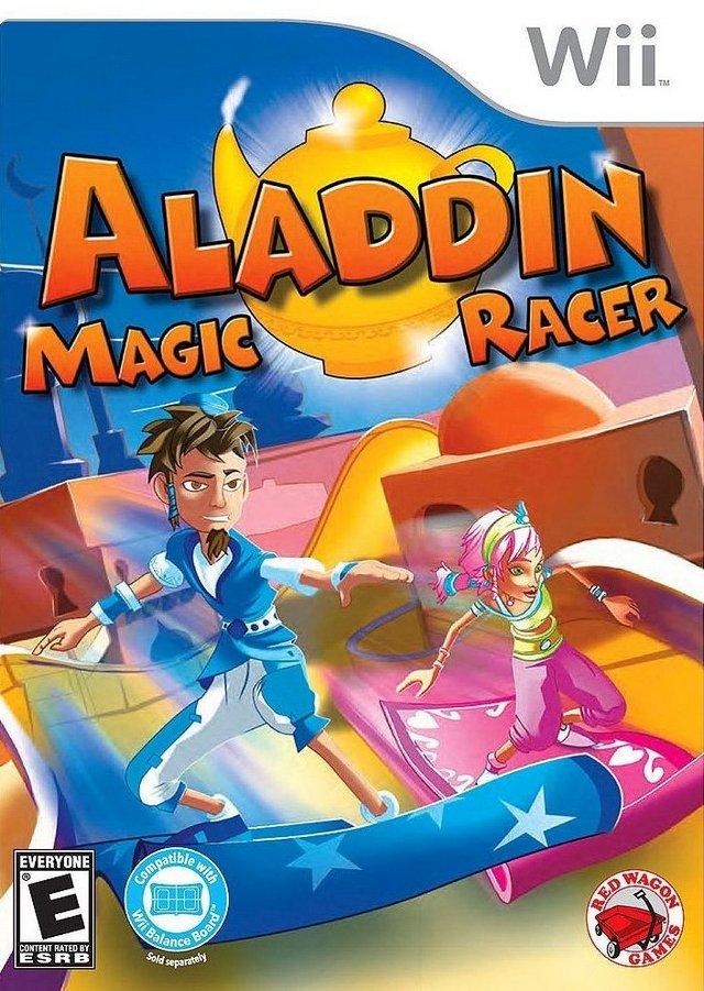 Rom juego Aladdin Magic Racer