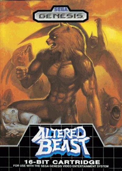 Rom juego Altered Beast (JU) (REV 01)