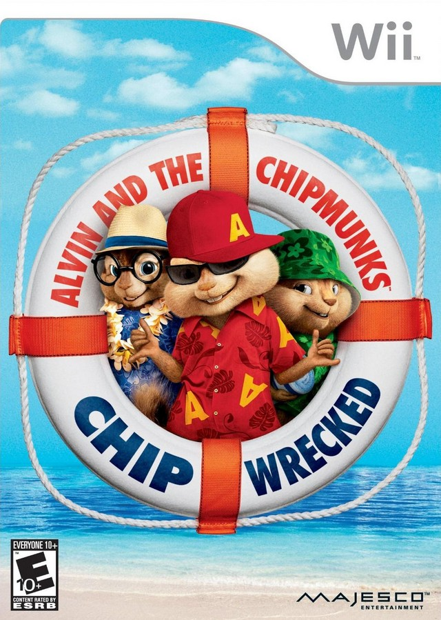Rom juego Alvin And The Chipmunks - Chipwrecked