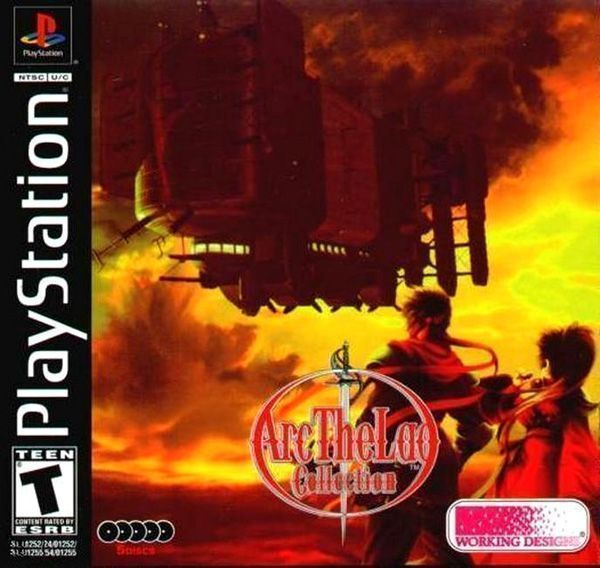 Rom juego Arc The Lad Collection - Arc The Lad II