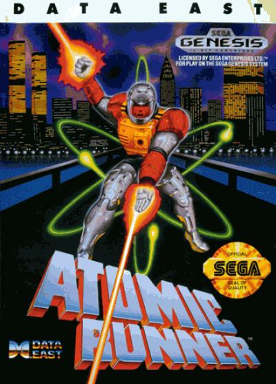Rom juego Atomic Runner