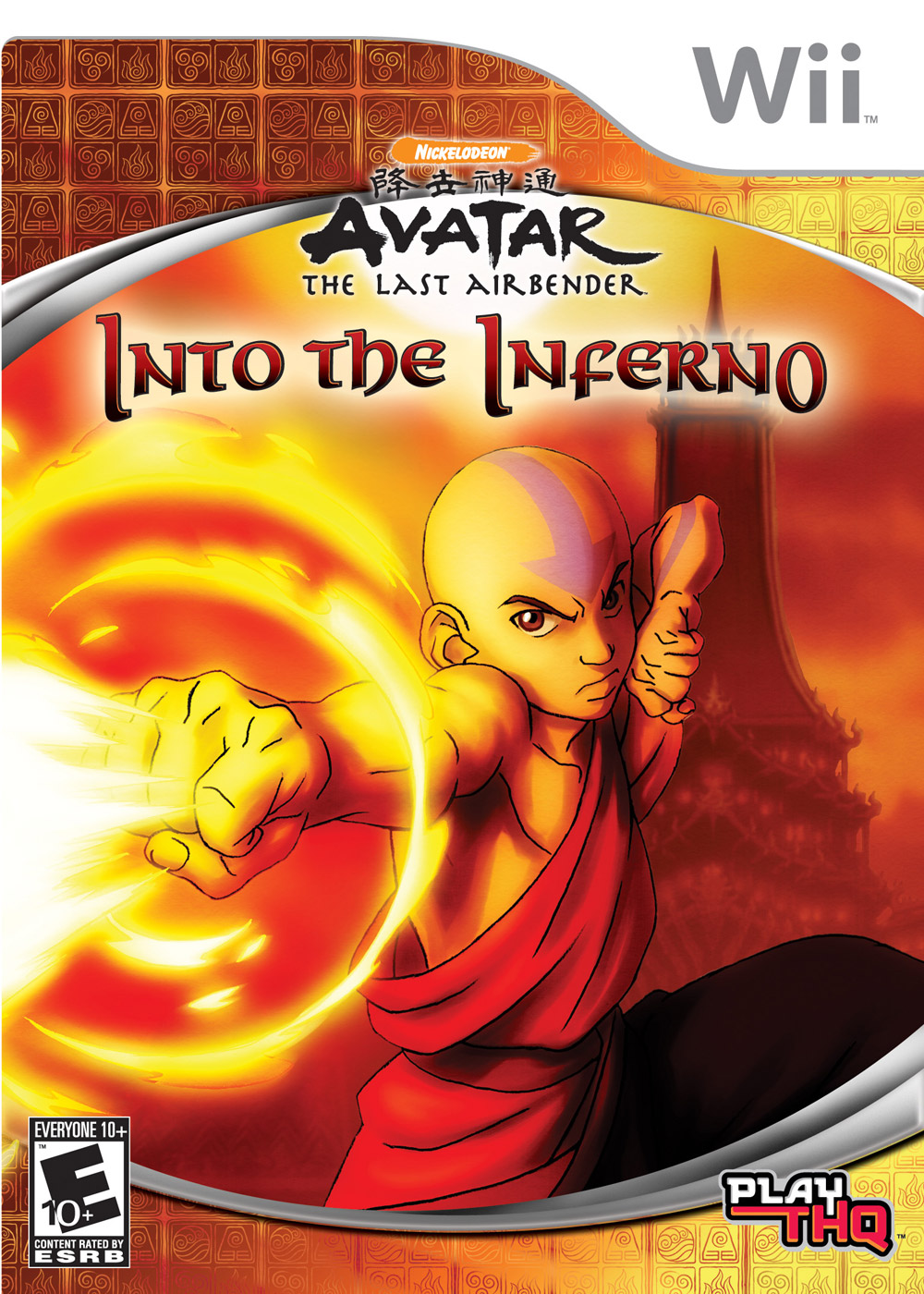 Rom juego Avatar - The Last Airbender- Into The Inferno