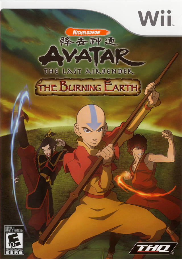 Rom juego Avatar - The Last Airbender- The Burning Earth