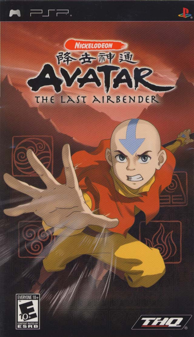 ROM Avatar - The Last Airbender para Playstation Portable【PSP】