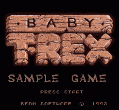 Rom juego Baby T-Rex