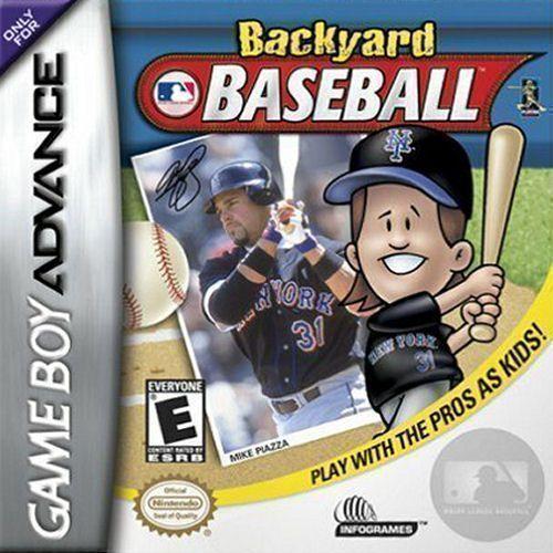 Rom juego Backyard Baseball GBA