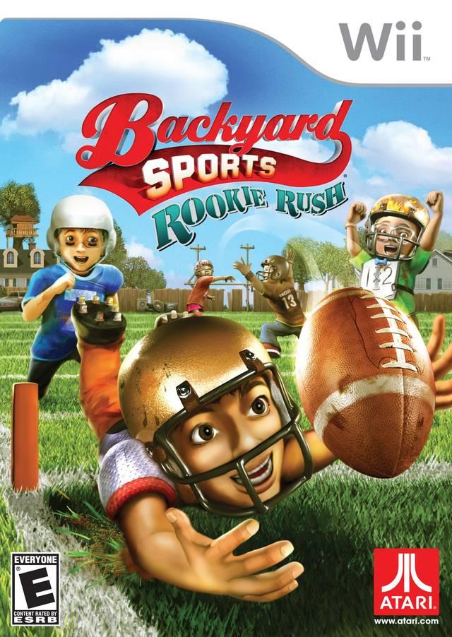 Rom juego Backyard Sports Football- Rookie Rush