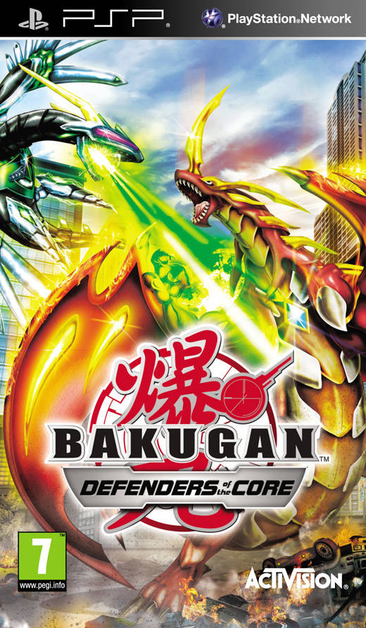 Rom juego Bakugan Battle Brawlers - Defenders Of The Core