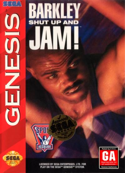 Rom juego Barkley Shut Up And Jam! (JUE)
