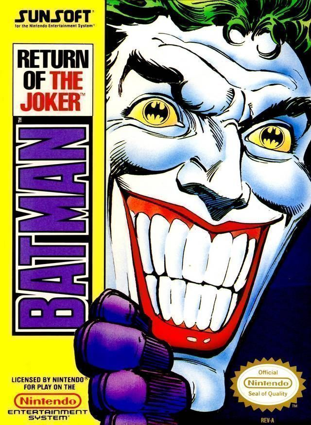 Rom juego Batman - Return Of The Joker