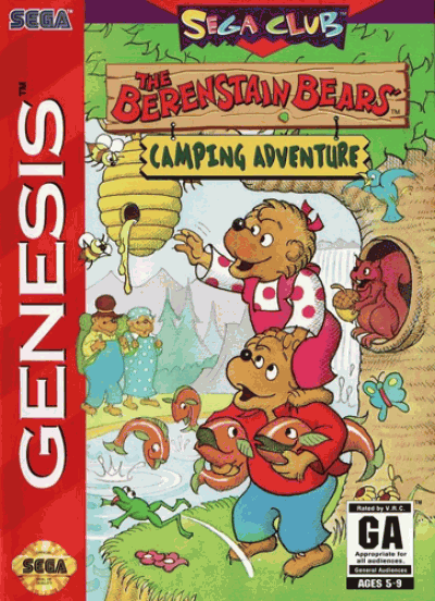 Rom juego Berenstain Bears', The Camping Adventure