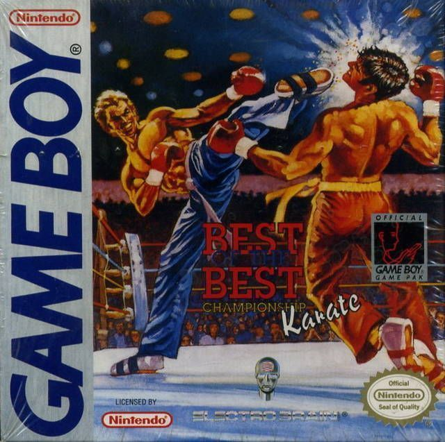 Rom juego Best Of The Best - Championship Karate