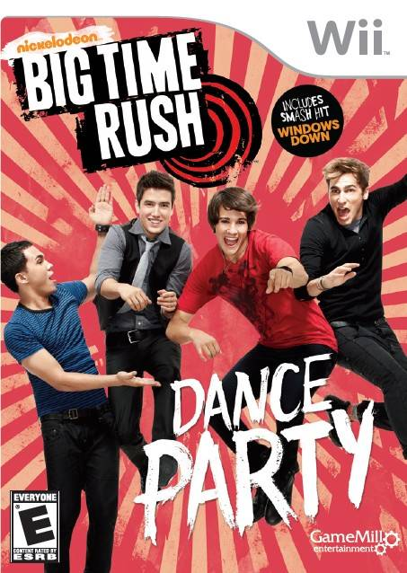 Rom juego Big Time Rush - Dance Party