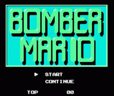 Rom juego Bomber Mario Vx.xx